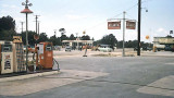 1954 - Atlantic gas station in the northeast corner of LeJeune Road and South Dixie Highway (US 1)