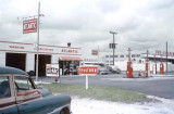 1954 - Atlantic gas station in the southeast corner of NW 36 Street and LeJeune Road, Miami