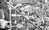 1963 - aerial view of Hialeah Speedway in Hialeah and Palmetto Speedway in Medley
