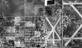 1952 - aerial view of north Hialeah, Amelia Earhart Field and Master's Field