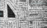 1963 - aerial view of north Hialeah with Lake Tahoe, Twin Lakes Elementary and O'Quinn Park