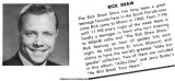 Mid 1960's - Rick's photo and bio on the back of a WQAM record album