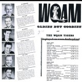Mid 1960's - WQAM Oldies but Goodies record album back cover