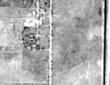 1963 - aerial view of Dressel's Dairy (Milam Dairy until 1941) on Milam Dairy Road