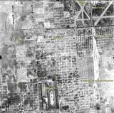 1952 - aerial view of Hialeah, Florida