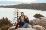 Summer 1985 - Don and Karen Dawn at Lake Tahoe