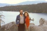 Summer 1985 - Don and Karen at Lake Tahoe