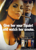 1970 - Tipalet Ad - Give her your Tipalet and watch her smoke