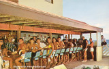 1960's - a packed bar at the Castaways ocean front bar, Sunny Isles