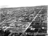 1936 - aerial view of Miami and Miami Senior High School