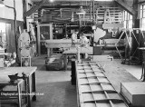 1950- Byron Creel, leadman in the sheet metal shop at Aerodex in the MIAD section of Miami International Airport