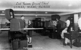 1944 - Link Trainers in the Ground School at Naval Air Station Miami