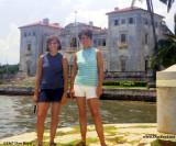 1967 - Janet Province and Anita Petrogallo at Vizcaya