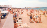 1966 - the original South Beach with golden sand between the fishing pier and the Government Cut north jetty
