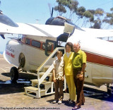 1972 or 1973 - Richard Silagi with his mom and dad and Golden West Grumman Goose