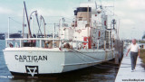 Early 1970's - John M. Boyd checking out former Coast Guard Cutter Cartigan WSC-132 at Watson Island