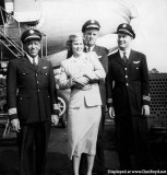 Late 1940's - a National flight crew with the caption that reads: Joe Baily Joe Martin