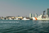 2009 - the Coast Guard Base (Sector Miami) on Causeway Island with Miami Beach in the background (#1631)