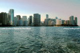 2009 - Brickell Avenue, downtown Miami and Brickell Key high rise buildings (#1652)