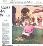 1961 - Miami High Junior Betty Billings in a Miami Herald article about the typical Dade teenager