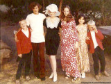 1970 - Iris Maxwell and her children Karl Brook, Mike Martin, Terri Martin, Benita Tobin and Chris Brook