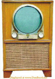 Zenith black and white television model G2355