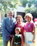 1983 - Jim and Esther Criswell, grand-daughter Karen Dawn and my wife Karen C. Boyd