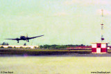 1974 - an Air Haiti Curtiss C-46 Commando landing on MIA's 9-left
