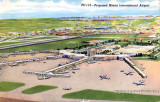 1950's - proposed new Miami International Airport terminal at 20th Street