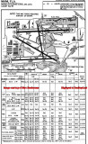 1959 - Runway 9-right instrument approach plate for Miami International Airport
