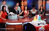 2010 - Bob Mayer's final day after 40 years of broadcasting at WTVJ in South Florida