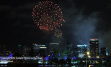 2010 - July 4th fireworks at Bayfront Park, downtown Miami