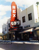 1970's - the Rex Theatre (formerly the Rosetta Theatre) at 7929 NE 2nd Avenue in Little River