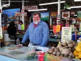 2010 - Robert, of the famous Robert Is Here Fruit Stand and Farm in Florida City