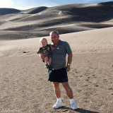 2007 - Kyler and Don at Great Sand Dunes National Park