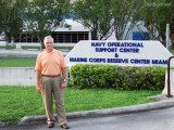 September 2010 - Charles D. Carter at the Navy & Marine Reserve Center, former site of the IFC for the Army's Nike missile base