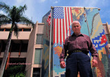 2010 - 85-year old Hialeah Police Officer Leo Thalassites still working for Hialeah - let's hear it for Leo!