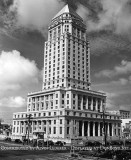 1940 - the west and south sides of the Dade County Courthouse - image sent with FBI's J. Edgar Hoover story (next photo)