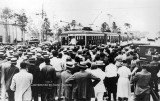 1925 - Coral Gables incorporated as a city with William Jennings Bryan addressing crowd