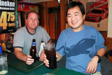 2011 - Mark Durbin and Ben Wang at Bryson's Irish Pub