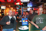 Joe Pries, Don, Kev Cook, Conan Schleicher, Mark Durbin, Ben Wang, Marc Hookerman and Dave Hartman at Bryson's Irish Pub