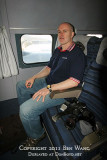 2011 - Joe Pries onboard the Historical Flight Foundation's restored Eastern Air Lines DC-7B N836D