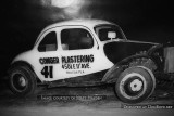 1955 to 1960 - Conger Plastering's race car at Hialeah Speedway
