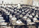 1958-59 - the first grade class at Blessed Trinity Catholic School in Miami Springs