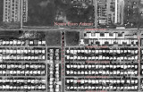 March 1970 - aerial view of my Aunt Norma's home (red x) on Shalimar Street in north Miramar