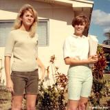 1966 - Jacqueline Jackie Zimmerman and her best friend Kandy Ingram