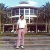 1976 - Jerry Griffis (former brother-in-law) at Doral Country Club