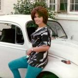 1968 - Cindy from Ruskin with my 1968 VW Beetle