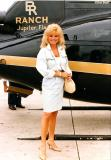 Late 80's - Loni Anderson at Miami International Airport