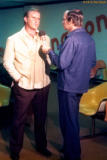 1975 - Miami Dolphins head coach Don Shula at Miami International Airport